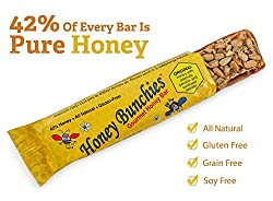 The Honey Bunchies Gourmet Honey Bar is a 100% all-natural snack bar that will leave your taste buds begging for more with each bite. Made with simple ingredients, we crafted a delicious, premium quality bar that perfectly combines sweet & salty ...