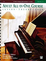 Alfred's Basic Adult All-In-One Course, Bk 3: Lesson * Theory * Solo (Alfred's Basic Adult Piano Course)