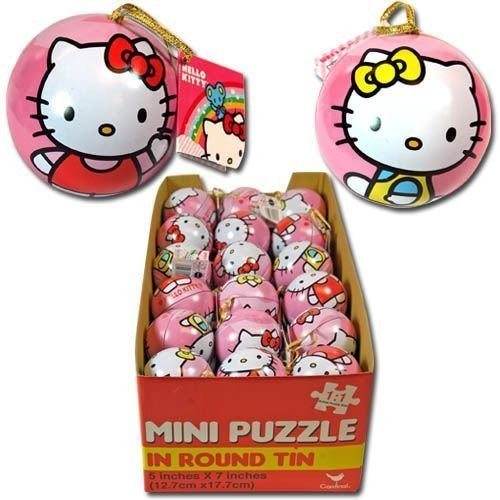 Hello Kitty Mini Puzzle in Round (Round Mini Tin)