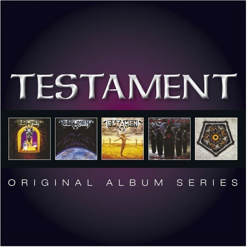 CD : Testament - Original Album Series (Germany - Import, 5 Disc)