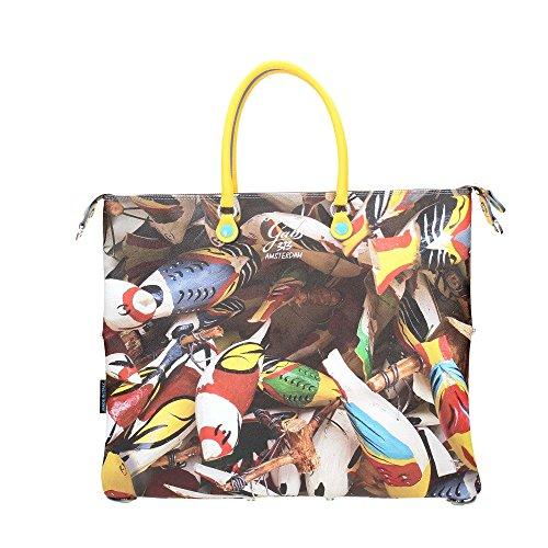 Borsa G3 G3 a Stamp GABS Donna GABS mano mano Uccelli Donna Borsa a Stamp qAxEwdSx