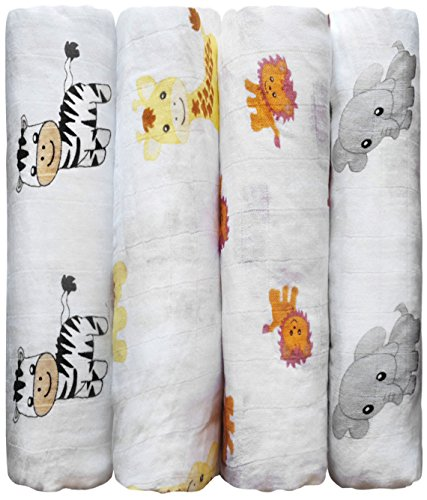 Muslin Baby Swaddle Blankets CuddleBug product image