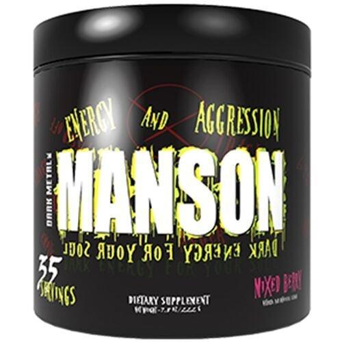 Dark Metal Manson, Mixed Berry, 0.75 Pound by Dark Metal