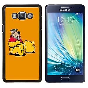 """Be-Star Único Patrón Plástico Duro Fundas Cover Cubre Hard Case Cover Para Samsung Galaxy A7 / SM-A700 ( Osito de peluche de dibujos animados Toy Dibujo Animación"""" )"""