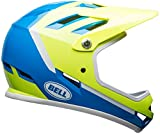 Bell Sanction Bike Helmet – Gloss Force Blue/Retina Sear Assassin Small
