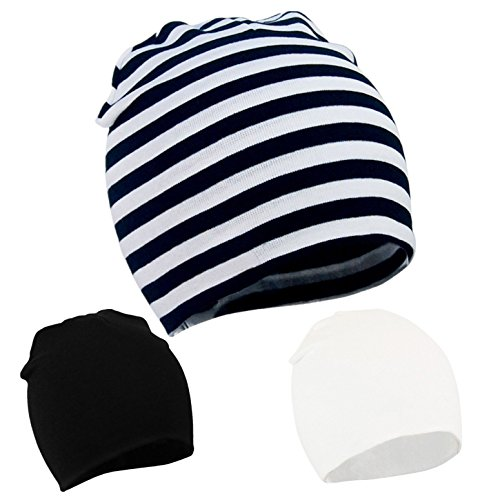 da97d2e99 Zando Infant Beanie Hat for Boys Baby Knit Soft Stretch Lovely Cute ...
