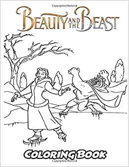 Amazon Com Beauty And The Beast Coloring Book Coloring Book For