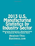 2013 U. S. Manufacturing Statistics by Industry Sector, Thomas Tubergen, 1482526840