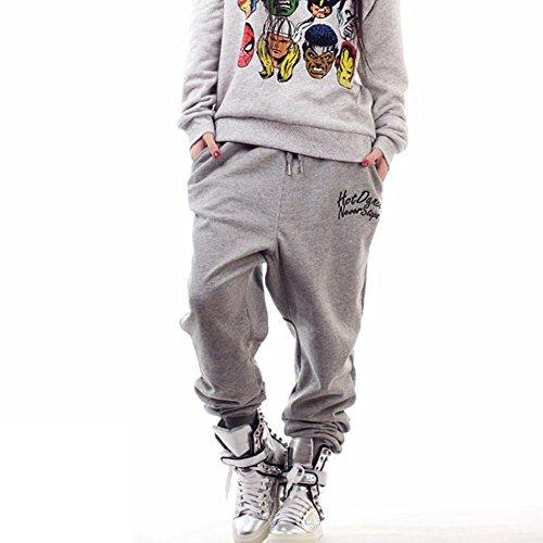 Magiftbox Girls Plus Size Hip-hop Dancing Pants Casual Harem Sweatpants
