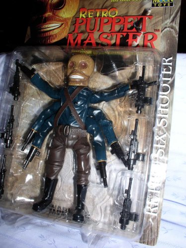 Puppet Master Retro Six Shooter Figure Puppet Master Six Shooter