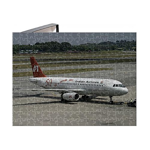 Piece Puzzle of Airbus A320 Indian Airlines in Special Livery (1565361) ()