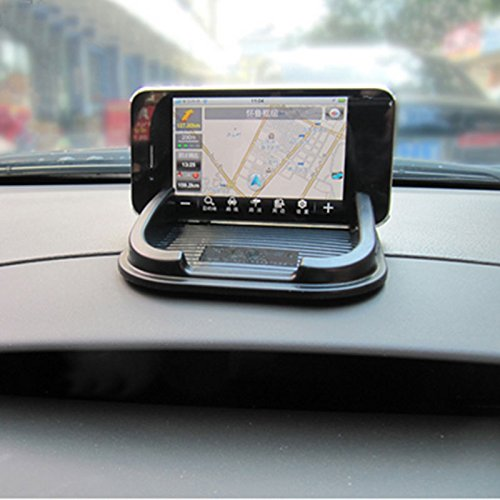 Refaxi Car Anti Non Slip Pad Mat Skidproof Holder Stand Shelf For GPS Cell Phone - Sunglasses Al Mobile