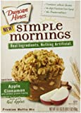 Duncan Hines Simple Mornings Muffin Mix, Apple Cinnamon, 16.1 Ounce (Pack of 12)