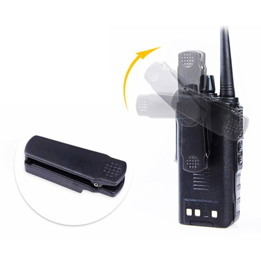 Retevis RT6 2 Way Radio IP67 Waterproof Dual Band VHF/UHF 136-174Mhz/400-520Mhz Walkie Talkie with Earpiece (5 Pack) and Programming Cable (1 Pack) by Retevis (Image #6)