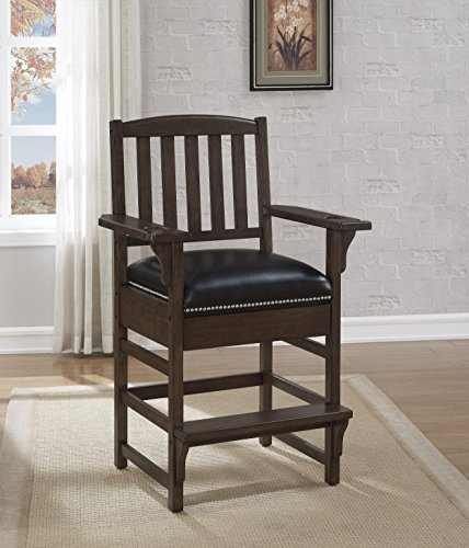 Cheap American Heritage King Chair in Pewter Finish 668181