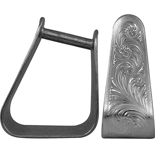 NRS Angled Engraved 3in Stirrup