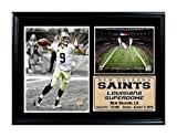 Encore Select 126-37 NFL New Orleans Saints Framed Super Bowl XLIV Champion Drew Brees Print, 12-Inch by 18-Inch