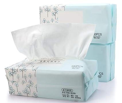 Toalla de cara desechable de algodón salón de belleza toalla de limpieza especial almohadilla de algodón