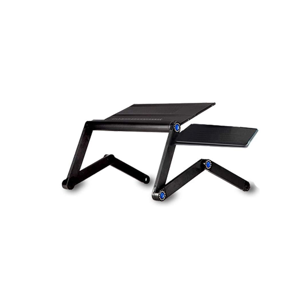 Cama la de Escritorio de la computadora portátil con la Cama Tabla de Estudio de Escritorio pequeña Mesa de Aluminio Plegable Simple 845576