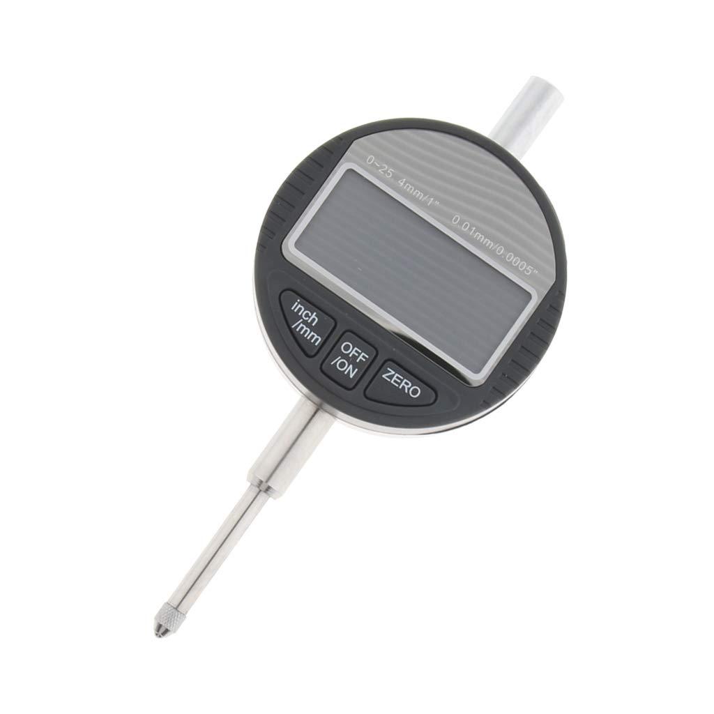 KESOTO Allzweck Digitale Messuhr Elektrische Messuhr Messbereich 0-25,4 mm Mikrometer Messung