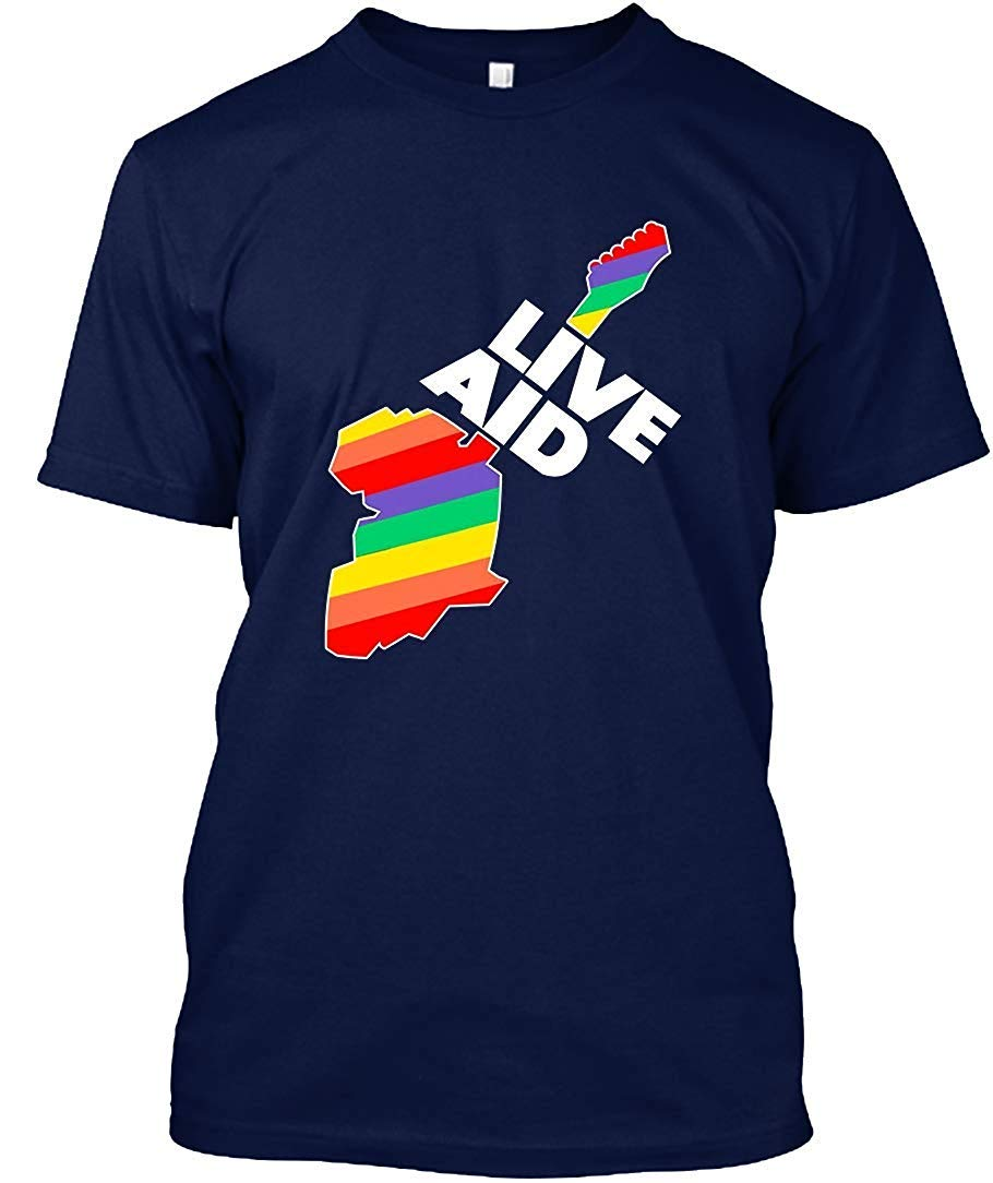 Live Aid Band Aid 1985 3 T Shirt