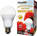 Miracle LED 605010 LED 8 Watt Absolute Daylight Spectrum Grow Lite Review
