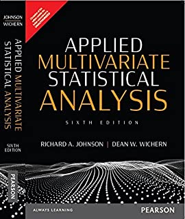Applied Multivariate Statistical Analysis 6th Edition Pdf