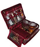 Kuber Industries Jewellery Kit / Make Up Kit/ Wedding Collection Gift In satin