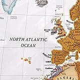Scratch The World Travel Map - Scratch Off World