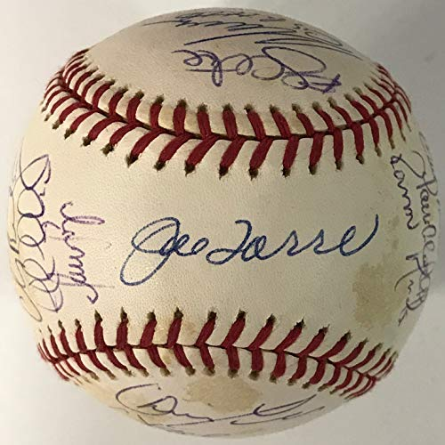 2000 New York Yankees Signed World Series Baseball