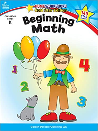 Amazon.com: Beginning Math, Grade K: Gold Star Edition (Home ...