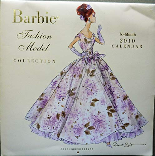 Barbie Fashion Model Collection - 2010 Calendar (Robert Best Barbie Calendar)