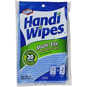 Handi Wipes Reusable Cloths, Extra Large 6 cloths