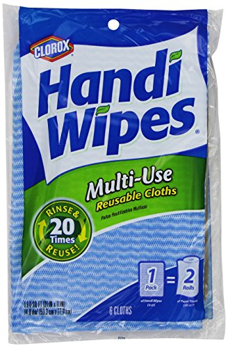 Price comparison product image Handi Wipes Reusable Cloths,  Extra Large 6 cloths