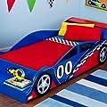 KidKraft Race Car Toddler Bed Toddler Race car Themed Bed F1 Car Design