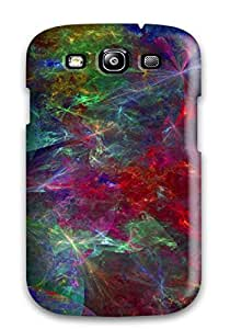 Best Premium Protective Hard Case For Galaxy S3- Nice Design - Shapes Abstract 8808931K28028360