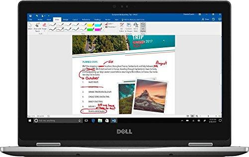 Dell Inspiron 13 2-in-1 I7378-5564GRY-PUS – 13.3″ FHD Touch – i5-7200U – 8GB Ram – 256GB SSD – Silver