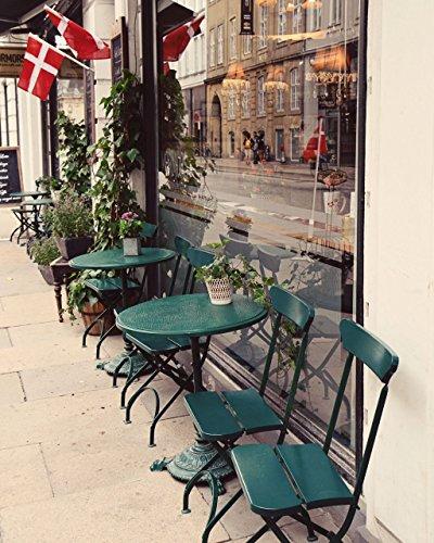 Copenhagen Denmark Travel Photography Print - European Kitchen Decor - Copenhagen - Design Shops Copenhagen