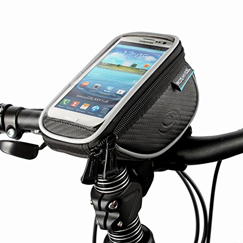 ArcEnCiel (TM) Cycling Bike Bicycle 4.8 inches Mobile Cell Phone Pannier Front Top Tube Bag