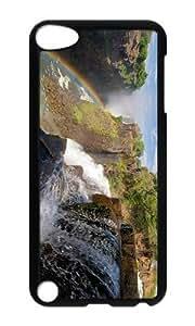 Ipod 5 Case,MOKSHOP Cool zambezi river victoria falls Hard Case Protective Shell Cell Phone Cover For Ipod 5 - PC Black