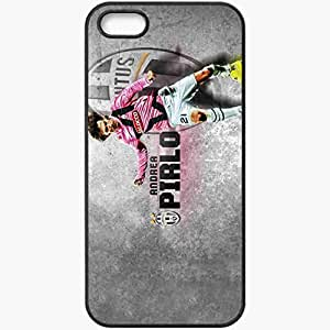 Personalized iPhone 5 5S Cell phone Case/Cover Skin Andrea Pirlo Sport 15303 Black