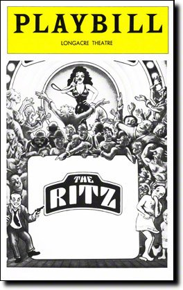 Hairstyles In 1970 (The Ritz Playbill for the Original Broadway Production, Starring Rita Moreno, Jack Weston, Jerry Stiller, Longacre Theatre, April)