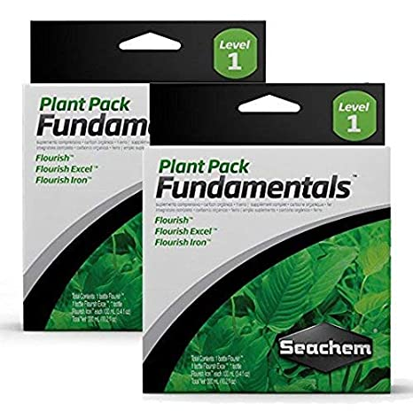 Seachem Plant Pack Fundamentals (Box of 3 different 100ml Items) 2Pack