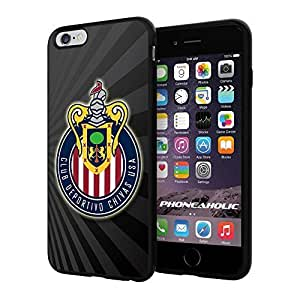 Soccer MLS CLUB DEPORTIVO CHIVAS USA FC LOGO SOCCER FOOTBALL, Cool iphone 6 Smartphone Case Cover Collector iphone TPU Rubber Case Black