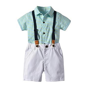 Cyhulu Baby Boy Gentleman Outfits Suits 1c4037b457b