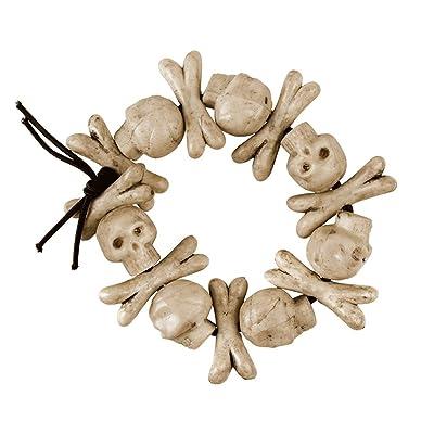 one size Bristol new BA012 skeleton bone necklace