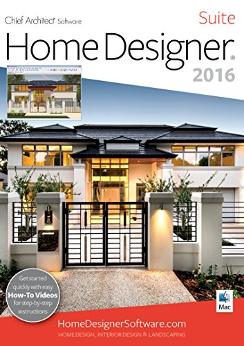 Home Designer Suite 2016 [Mac] by Chief Architect