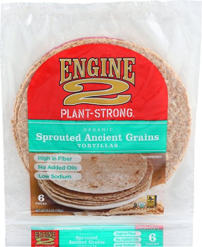 Engine 2, Organic Sprouted Ancient Grains Tortillas, 6 ct (FROZEN)