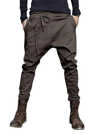 GRMO - Pantalones de chándal para Hombre Marrón marrón M: Amazon ...