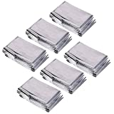 Cosmos ® Pack of 6 Reusable Emergency Survival Mylar...